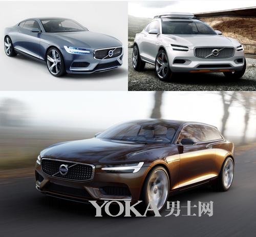 """沃尔沃""""概念车三部曲""""—— Concept Coupe、Concept XC Coupe和Concept Estate"""
