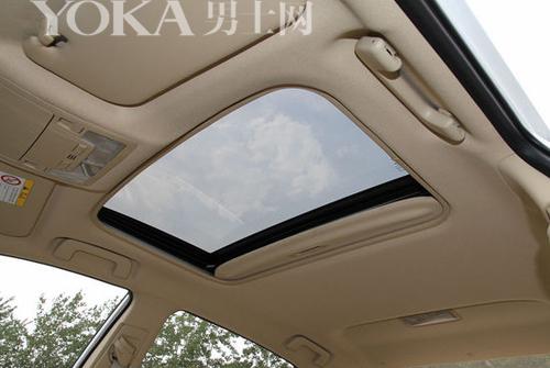 最常见的单天窗,开口面积相对较小