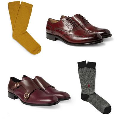 男人鞋子袜子搭配 - 浪漫人生 - 浪漫人生