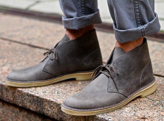 在60年代,沙漠靴被摩登一族所追捧