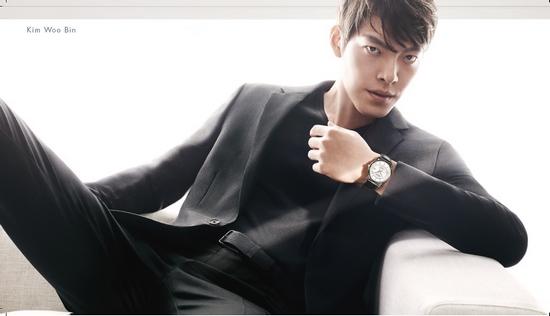 Calvin Klein腕表+首饰 首位亚洲区代言人金宇彬 infinite无限系列