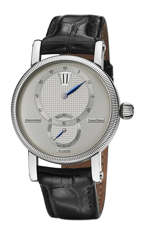 瑞宝Régulateur 30限量「三针一线」腕表