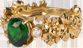 绿宝石戒指