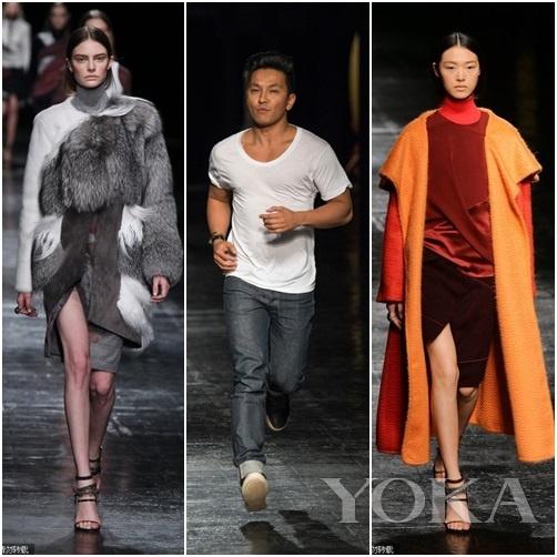 2014秋冬纽约时装周Prabal Gurung秀