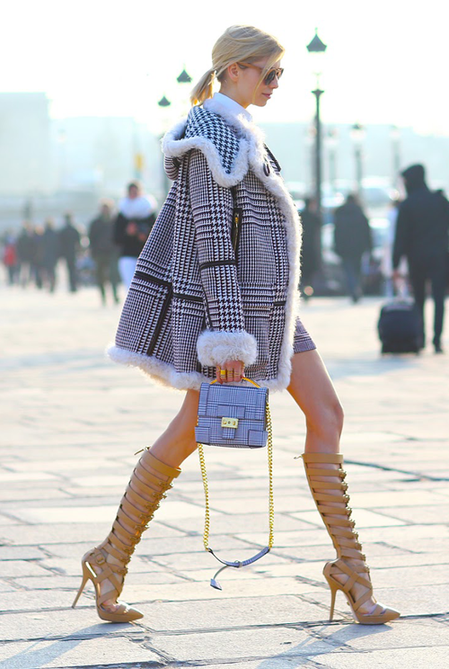 冬季露腿style