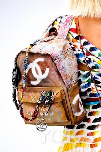 chanel的新背包