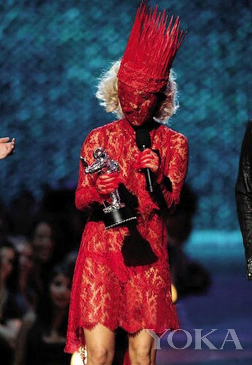 创意 明星 gaga/当年Nicola Formichetti为Lady Gaga打造的另类创意形象