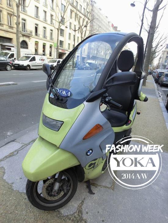 这款带顶棚的宝马摩托车,是不是很可爱?