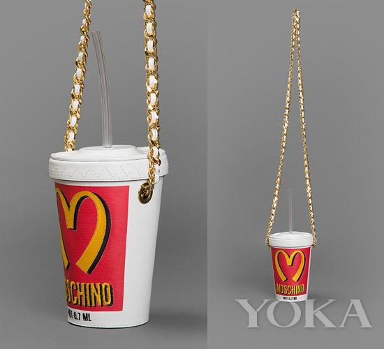 MOSCHINO 可乐手袋