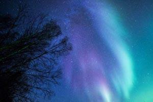 在阿拉斯加追逐北极光美景