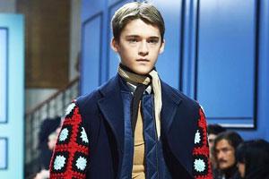 伦敦男装周展示安德森作品