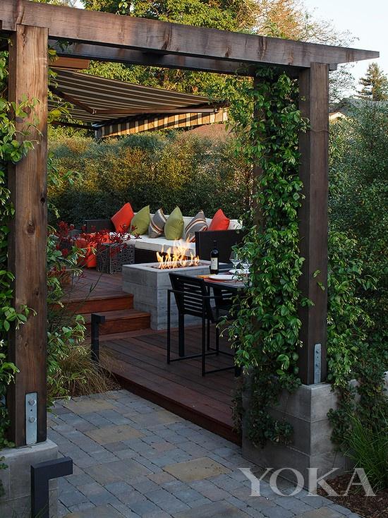 闯灯舞刀威胁民警10个漂亮花园露台,哪个是你最喜欢的?-玩意儿