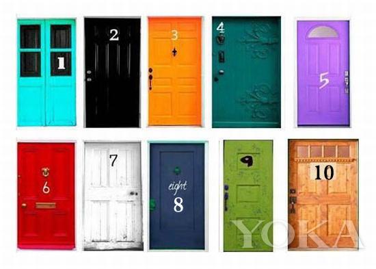 """10扇风格迥异的""""门"""""""