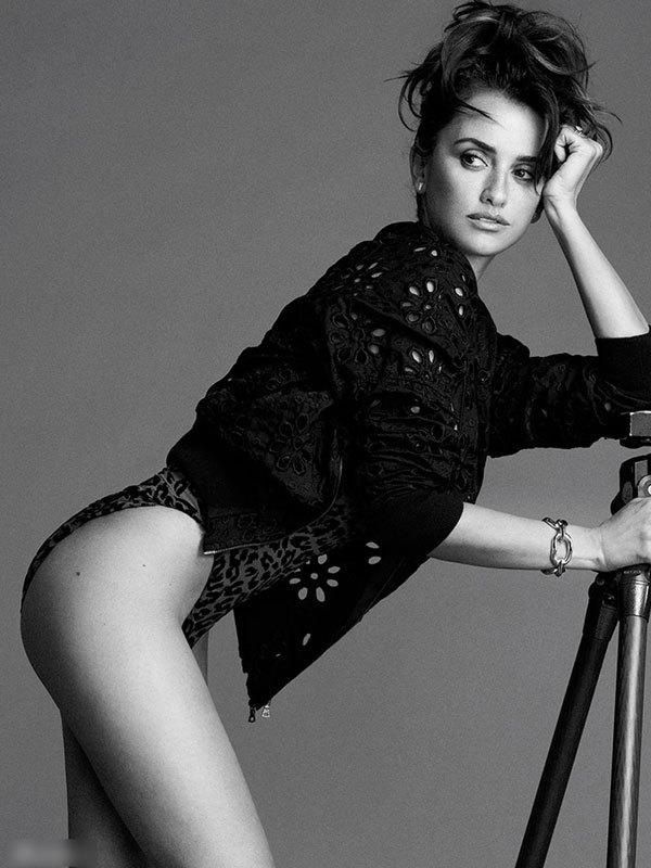 影后克鲁兹男性杂志展风情 被誉为最性感女人