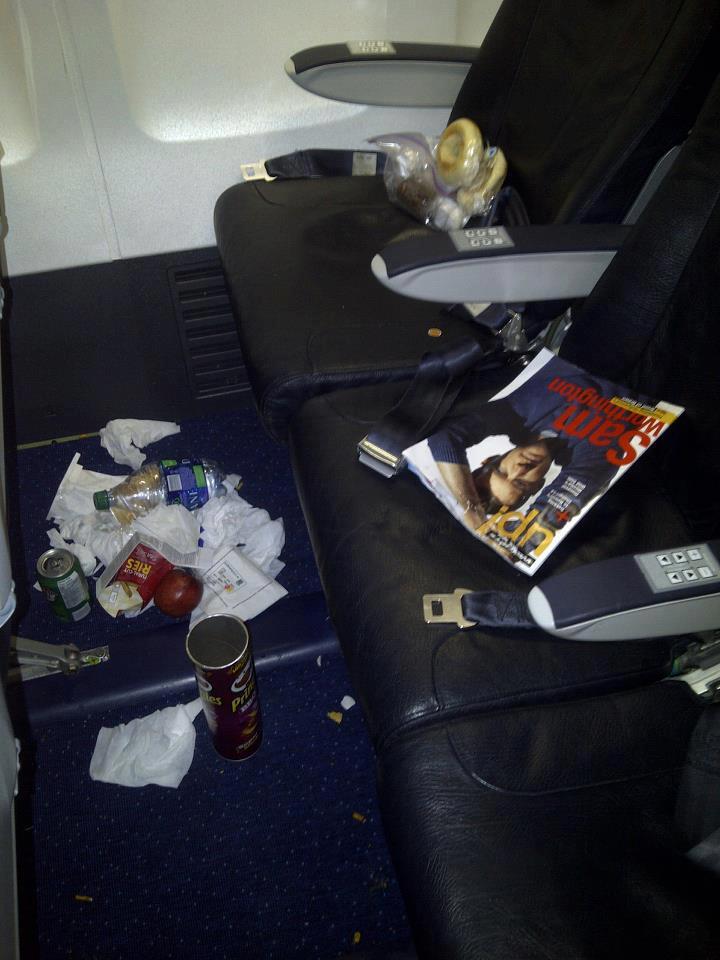 看看那些奇葩乘客在飞机上做了什么