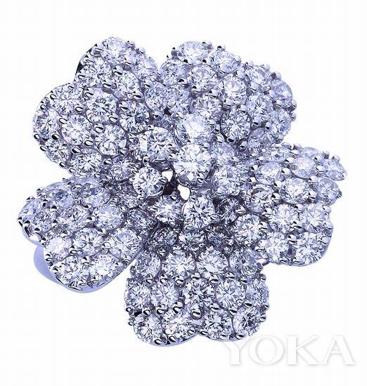 通灵珠宝STARLET(红毯)系列钻石耳坠