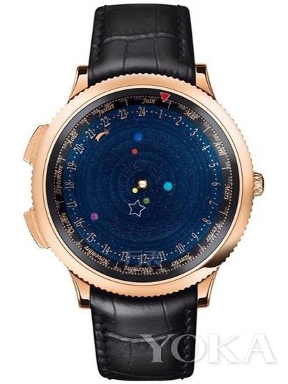 梵克雅宝Midnight Planétarium Poetic Complication诗意复杂功能腕表