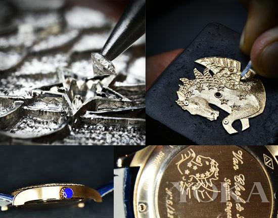 非凡表盘天马腕表的制作工艺