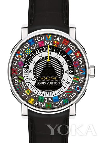 路易威登Escale世界时腕表