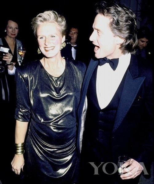 1988年,格伦·克洛斯-金球红毯孕妇扎堆 盘点颁奖季准妈妈