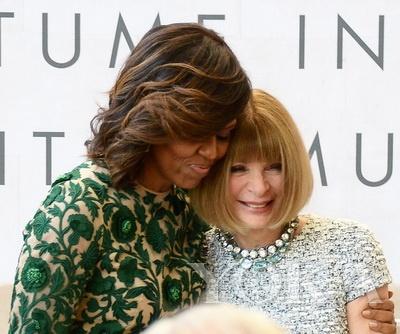 米歇尔·奥巴马与女魔头感情好