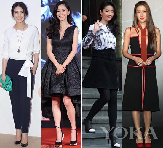 红黑榜:AB穿棉裙也要秀沟 女星对美总是欲求不满